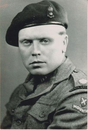 Major Ted Ruston 1 Mountain Regiment