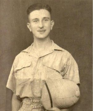 Private Michael PHILLISKIRK while serving in Egypt.