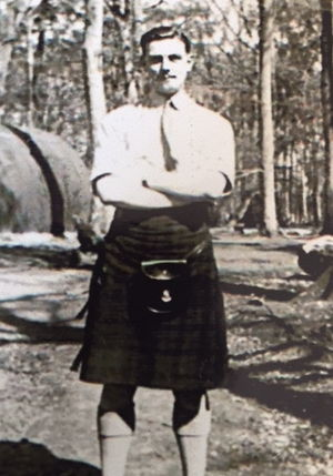 Lieutenant Ian Murray 1st Tyneside Scottish.